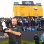 Image for the Tweet beginning: Congratulations, @ShaneLowryGolf! What a win