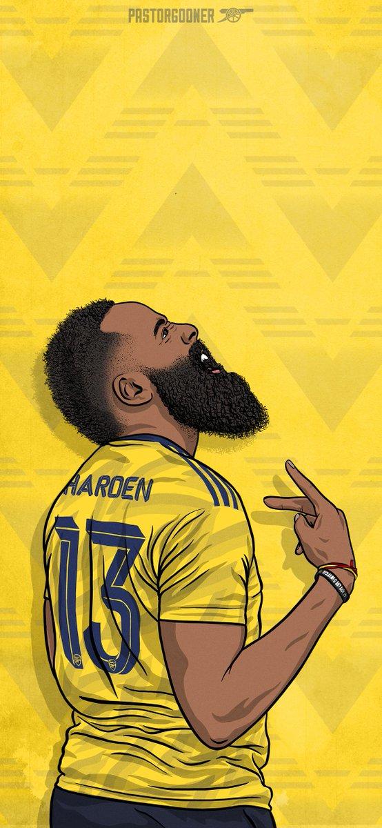 RT @PastorGooner: .@JHarden13 is a Gooner. @rockets @Arsenal @adidasfootball  #afc #coyg #arsenal #rockets #houston https://t.co/rcyrLegzsf