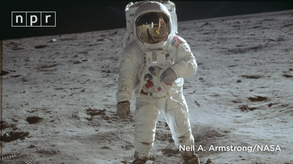 Some Swedish-made Hasselblad cameras didn't make it back home, as they were too heavy.Armstrong carried one of two outside and took most of the photos. https://n.pr/30Ns0La  #Apollo50th