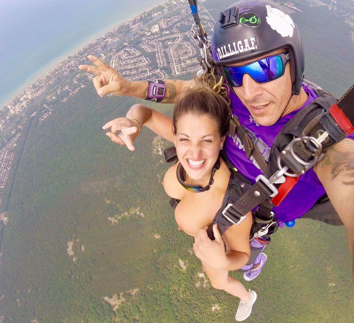 Nude skydiving