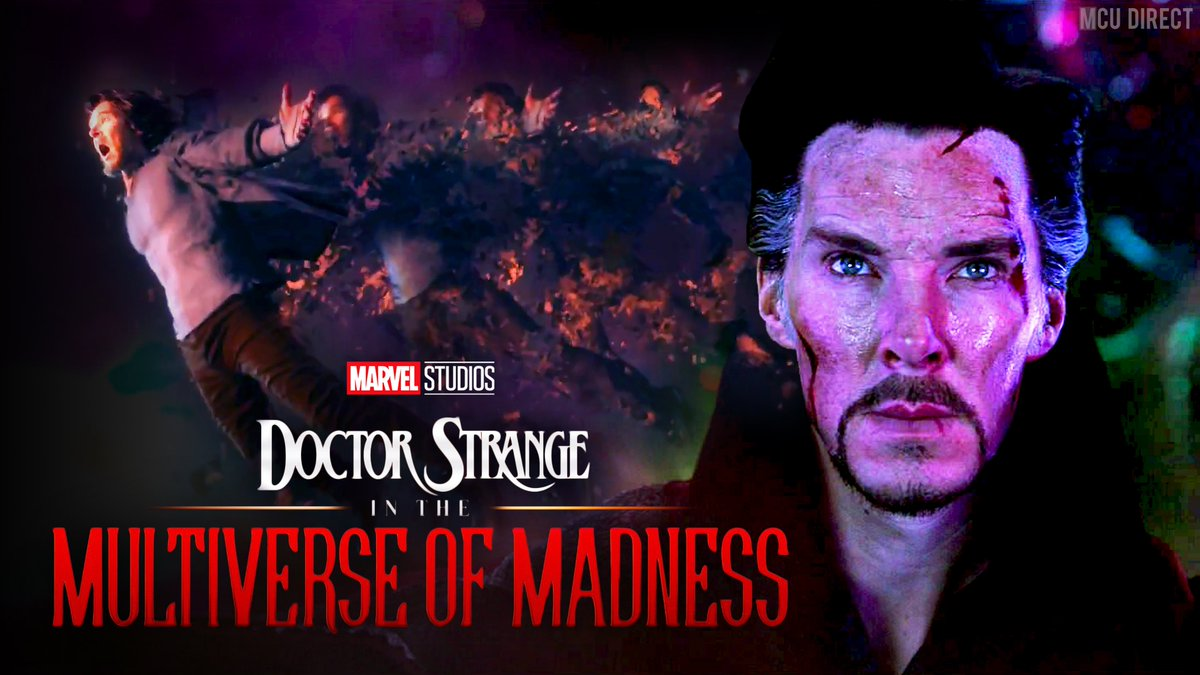 "#DoctorStrangeInTheMultiverseOfMadness will be the first ""scary MCU film,"" according to director @scottderrickson!  http:// bit.ly/2OfwmJq     <br>http://pic.twitter.com/5wiWEud24y"