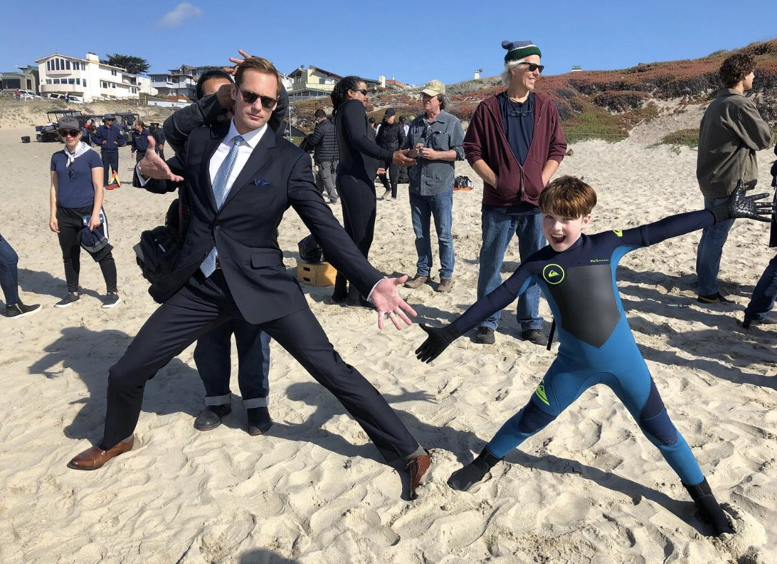 An impossible picture of Ziggy and his biological father, Perry. #BigLittleLies2 #AlexanderSkarsgard<br>http://pic.twitter.com/DZtzagur8A