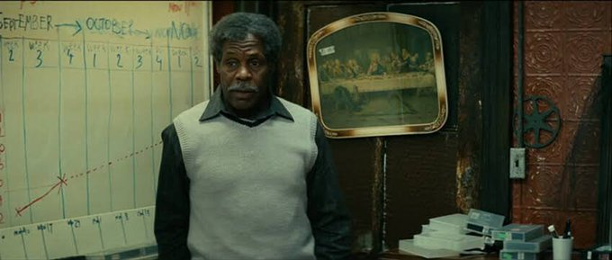 Happy birthday Danny Glover. He was truly endearing in Be kind rewind.