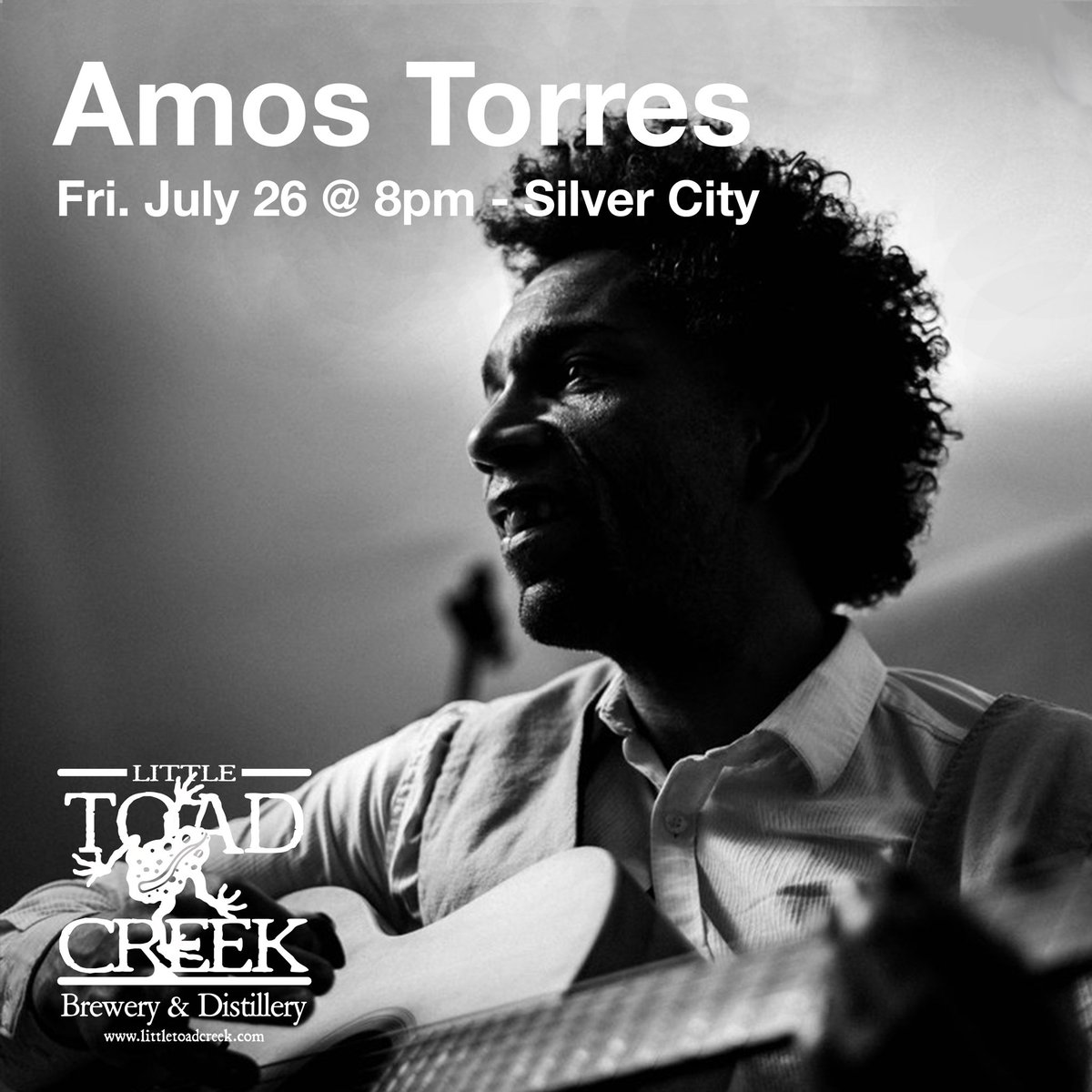 This Friday, the man, the myth, the legend, Amos Torres is playing at the Toad starting at 8pm! Come hang!  #amostorres #littletoadcreek #silvercitynm #nmbreweries https://t.co/E5Dk7PDHMn