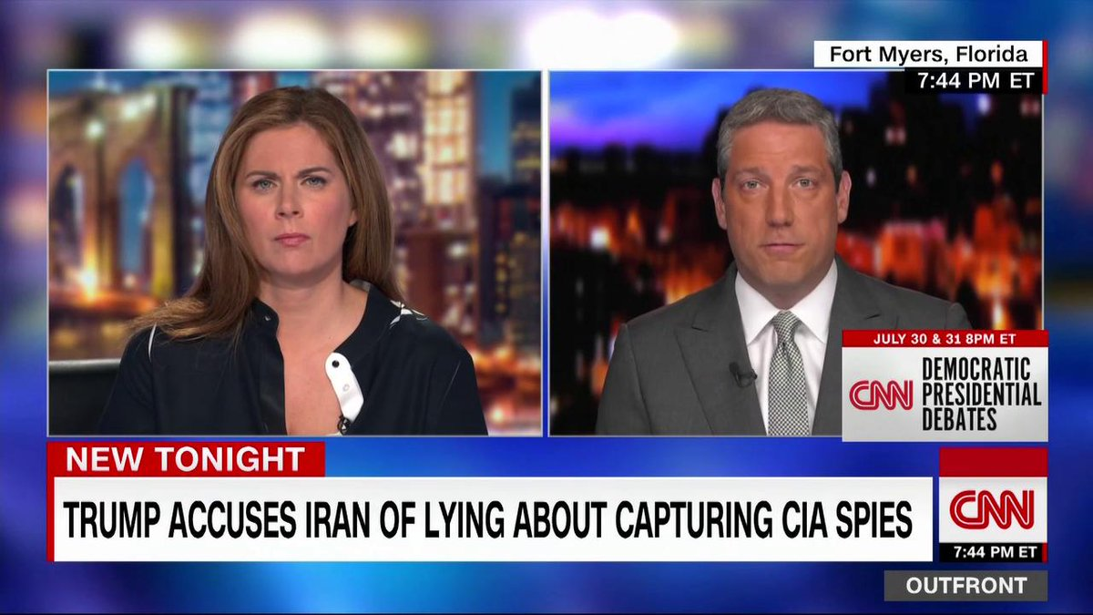 """We had a deal with Iran. ... Was it a perfect deal? No. But it was a deal with them that stabilized the region."" - Democratic presidential candidate Tim Ryan on US-Iran tensions http://cnn.it/2K2QEjY"