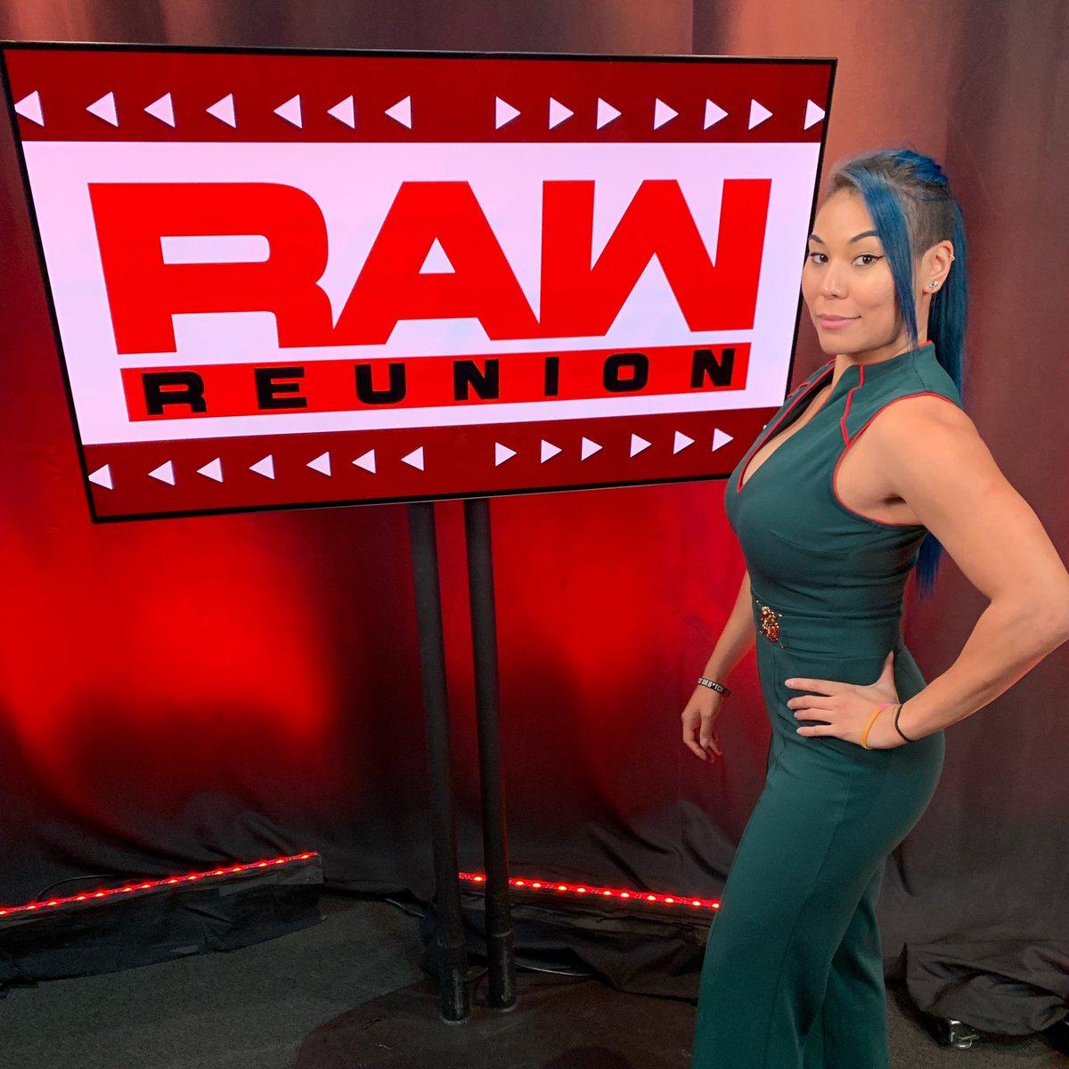Blessed. #HBIC #WWE #RawReunion #WWENXT