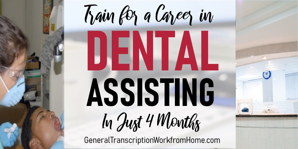 Get a Fulfilling Career as a Dental Assistant. Train in Just 4 Months https://bit.ly/2TpiOcC #dental #dentalassistant #training #medical #careers #affiliate