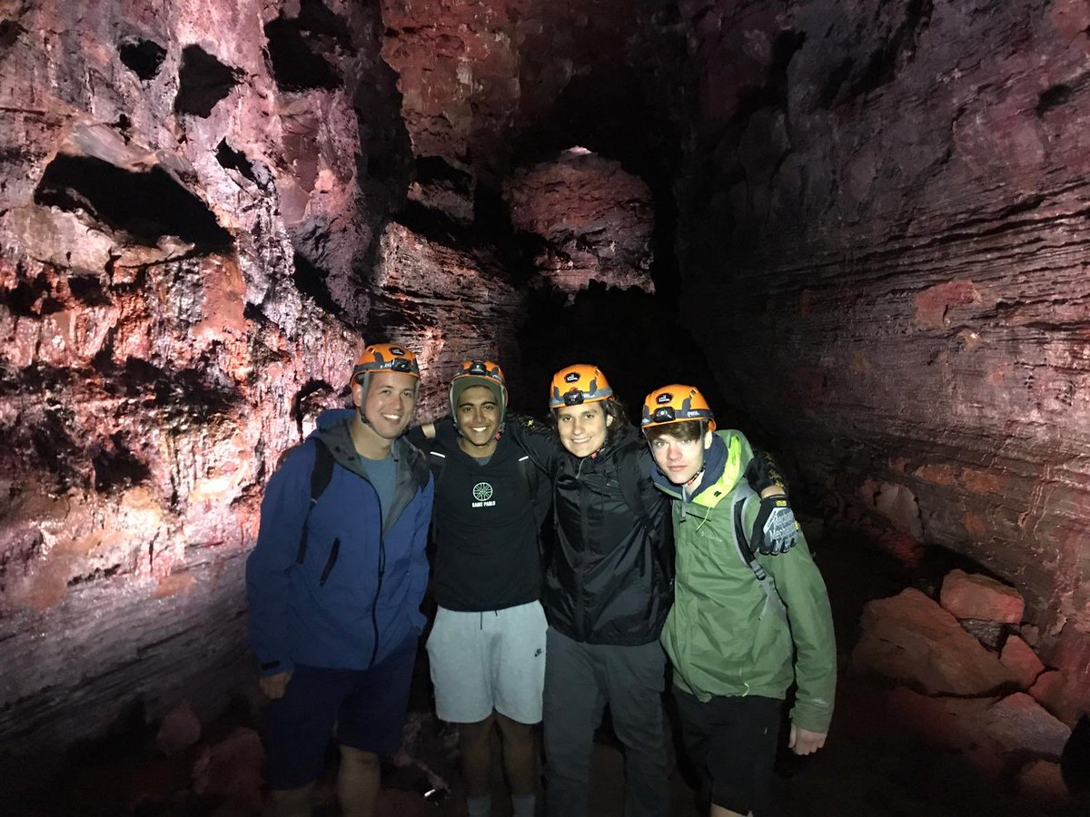 Exploring #Iceland's lava caves! #myjourney #globaljourneys #ingj2019 #summerabroad #summerschool #travel #adventure