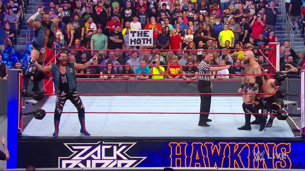 Are @ZackRyder & @TheCurtHawkins poised to hand The #VikingRaiders their first loss on #RawReunion?!