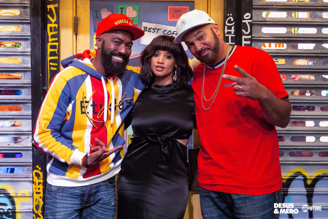 Showtime: .@SheIsDash kicks it with the Bodega Boys on tonight's all new @SHODesusAndMero at 11...