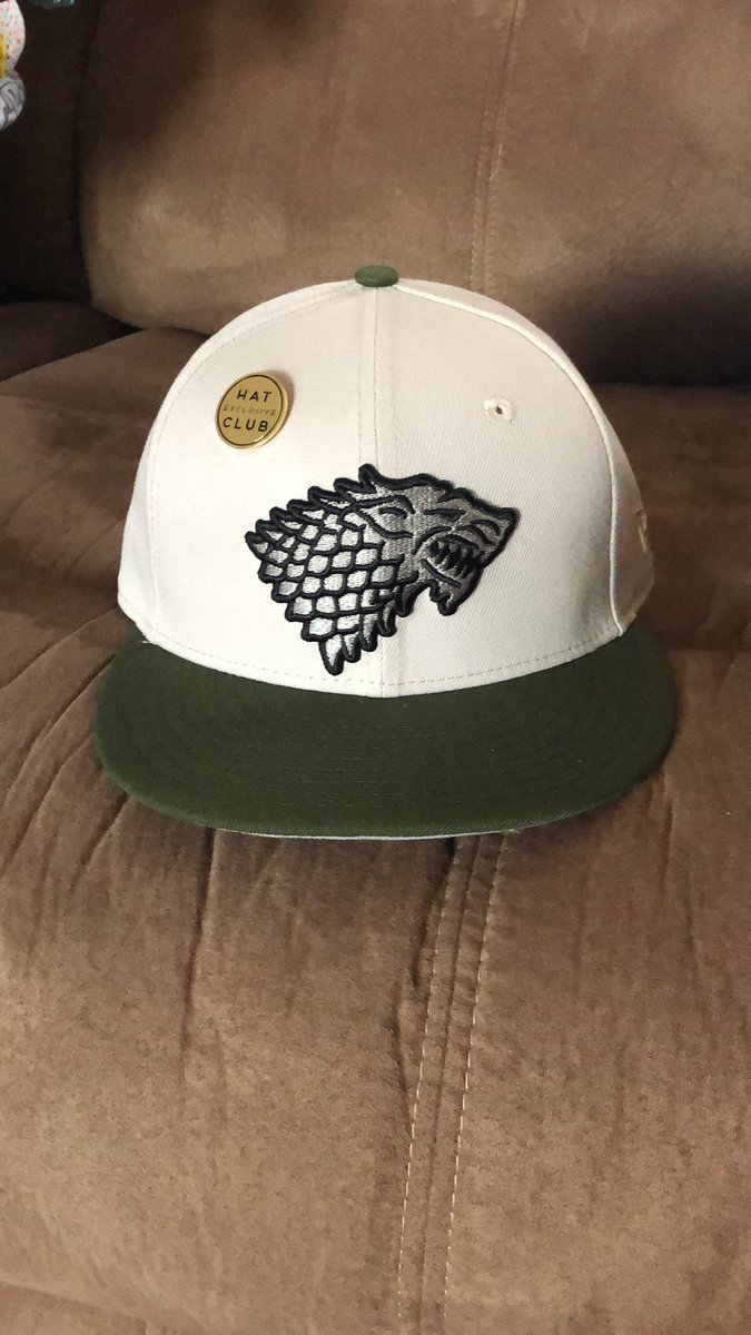 Look what came in!! @HatClub #Exclusive #HouseStark