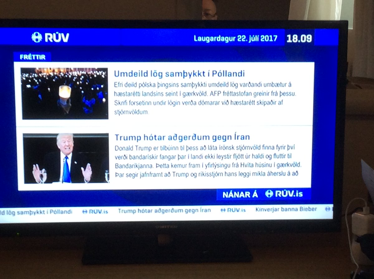 I arrived in #Iceland on this day 2 years ago for my first visit to that remote island but despite its geographic isolation, there was unfortunately no escaping #DonaldTrump, who popped up in the news when I turned on the TV in my hotel room (7.22.19) https://paulinepark.com/europe-2017-norway-iceland-spain/ …