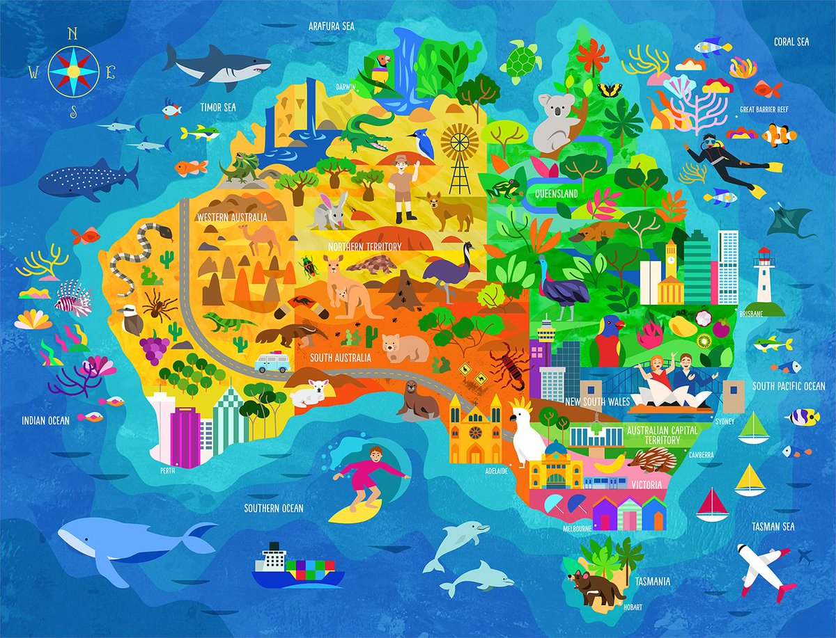 Australia Map Jigsaw.Simon Kuestenmacher On Twitter Cute Discover Australia Map This