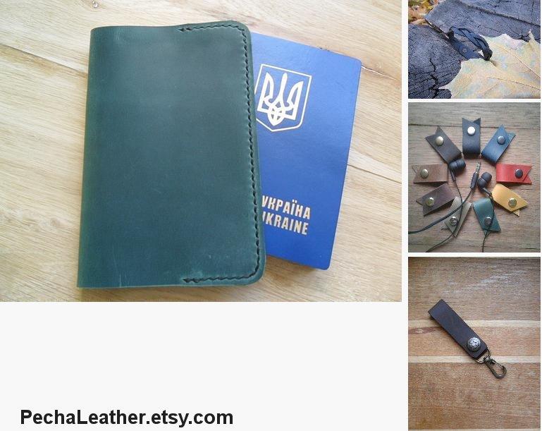 Simple green real leather passport cover Passport #bagsandpurses @EtsyMktgTool https://etsy.me/2Ldl2qX #simplecover #greenleatherpic.twitter.com/hwxBzDFTat