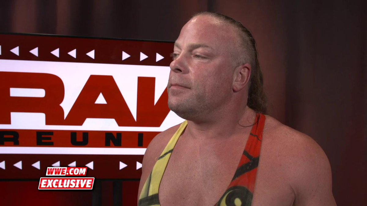EXCLUSIVE: @TherealRVD talks about seeing old friends at the #RawReunion. #Raw