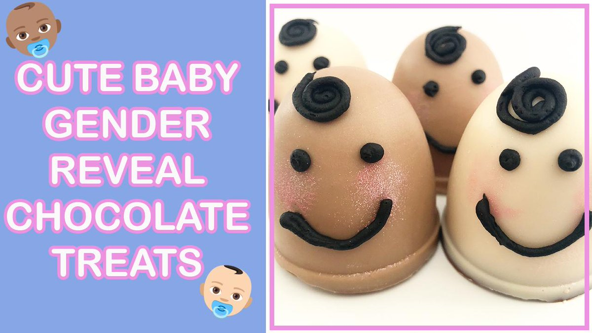 Looking for a fun way to reveal the gender of your baby??? Check out these cute (and incredibly yummy) baby gender reveal chocolates. Crack them open to see the surprise inside!!! :) https://youtu.be/ZzZ0pzJWNrc #GenderReveal #baby #babyshower #fun