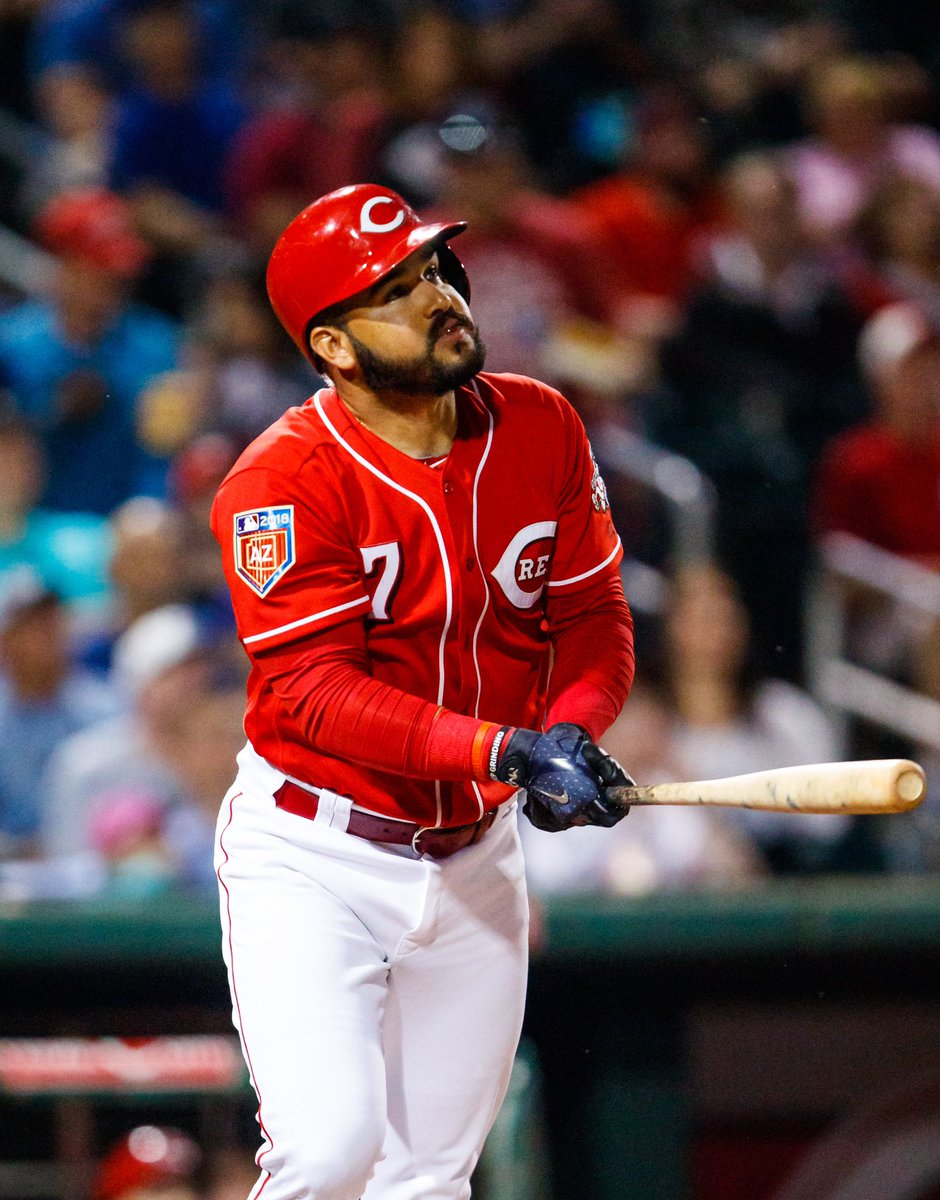 THE REDS WIN IN COMEBACK FASHION!  -   Suarez Two s  Suarez 64 RBIs on the year   Sonny goes 6 and s 7  -  #atobttr #BornToBaseball  #Reds<br>http://pic.twitter.com/93La74TeAN