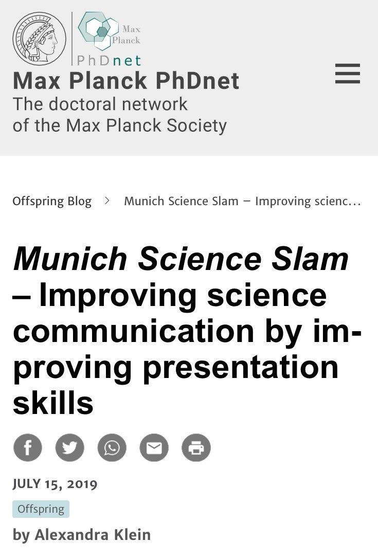 Munich Science Slam (@MUCScienceSlam) | Twitter