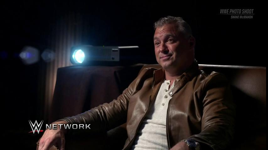 Tonight's new #WWEPhotoShoot with @shanemcmahon...was MONEY.Catch it anytime on @WWENetwork!