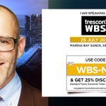 Image for the Tweet beginning: In two days the #WBSSingapore