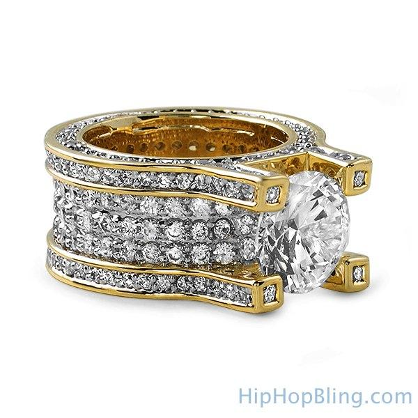Gold Baller Solitaire Eternity Iced Out Ring! FREE SHIPPING (USA) OVER $75  #blingbling #hiphop #hiphop #style #money #cash #jewels #luxury #blingbling #bling #jewelry #newbling #newstyle #save #money #cheap #clearance #hip #chains https://www.hiphopbling.com/collections/hip-hop-rings/products/gold-baller-solitaire-eternity-iced-out-ring …