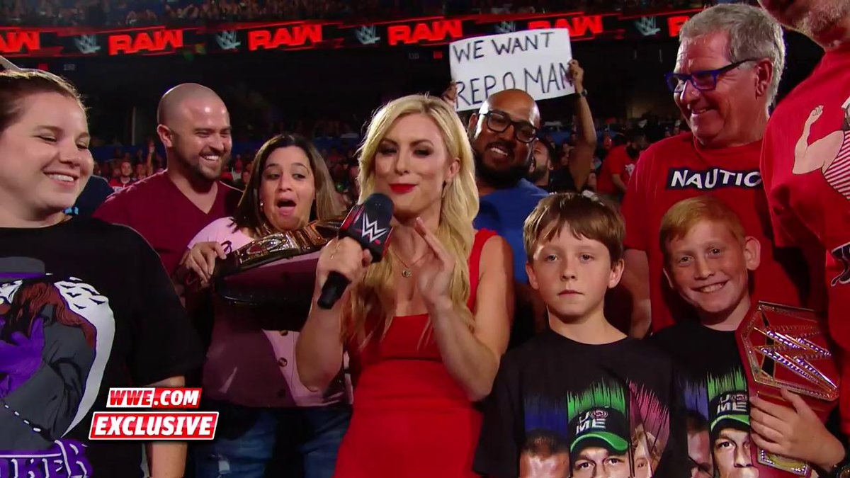 """EXCLUSIVE: Now THIS was a """"Dance Break"""" worthy of the #RAWReunion! #RAW#SpeakWWE"""