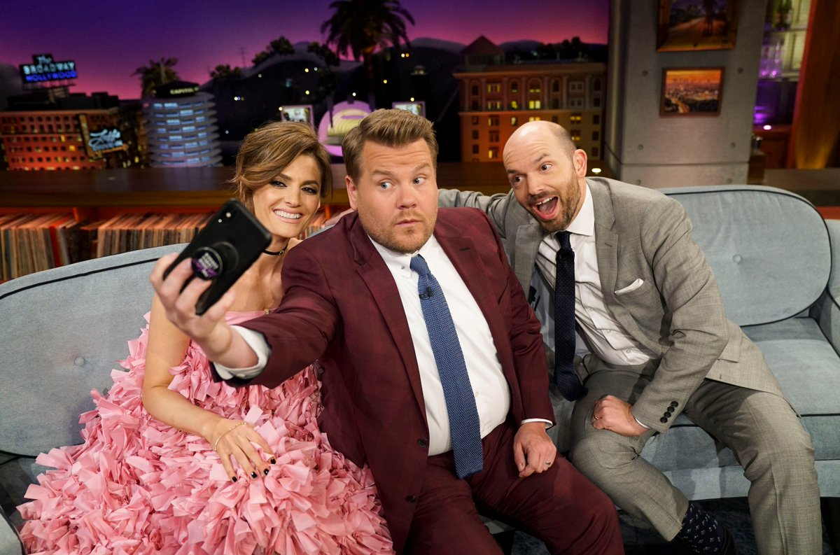 We know you missed us! The #LateLateShow with @paulscheer, @Stana_Katic + music from @the1975 starts right now!<br>http://pic.twitter.com/qLH37mnxfP