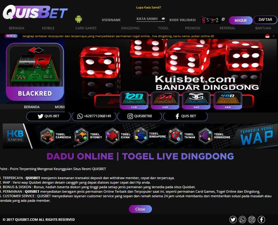 Casino Online Bandar Live Dingdong Livedingdong Twitter