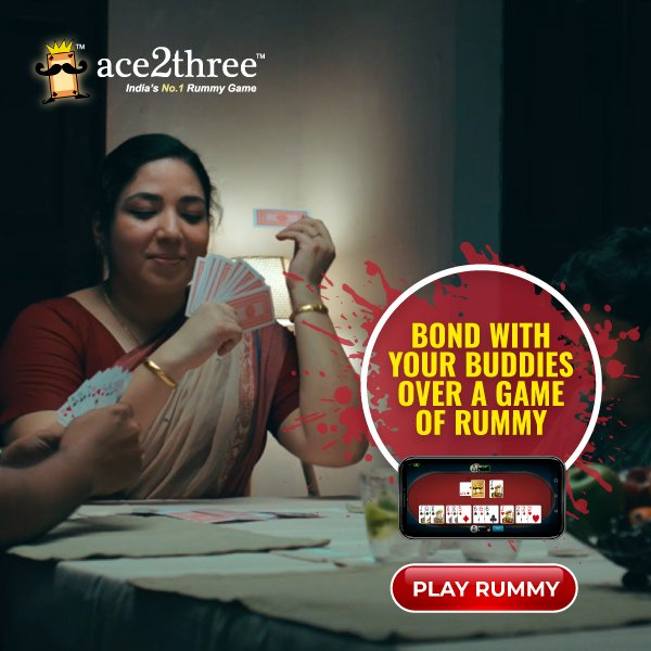 Bond with your buddies over a game of rummy! Re-live the Same joy of rummy game online ONLY on Ace2Three - Indias #1 Rummy Game! :) Play Now => bit.ly/ace2threerummy… #ace2three #rummy #TuesdayThoughts