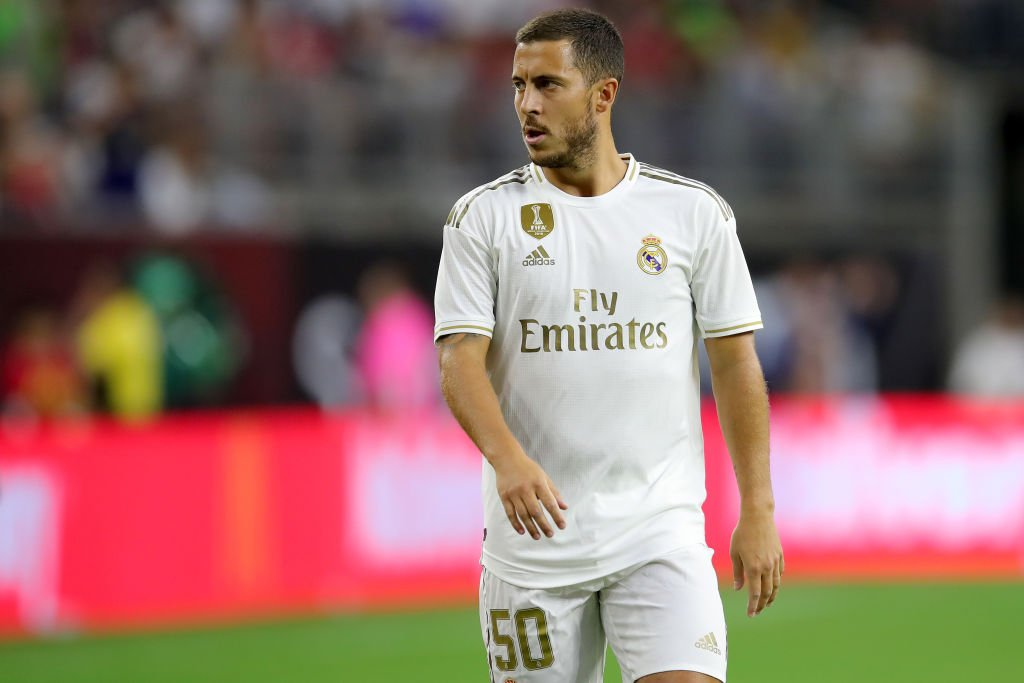 """Hazard on joining Real Madrid:   """"When you play for Real Madrid you need to win things every season. You need to win, win, win.  """"If you don't win the Champions League the fans get down and that's to be expected. At this club you always want to win and that's why I'm here."""" <br>http://pic.twitter.com/cvDlF9NcWz"""