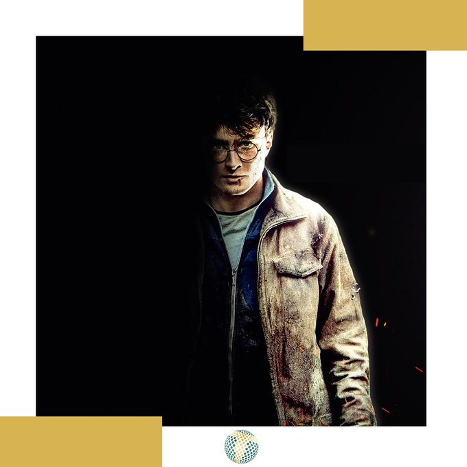 A Happy birthday to Daniel Radcliffe (Harry Potter).