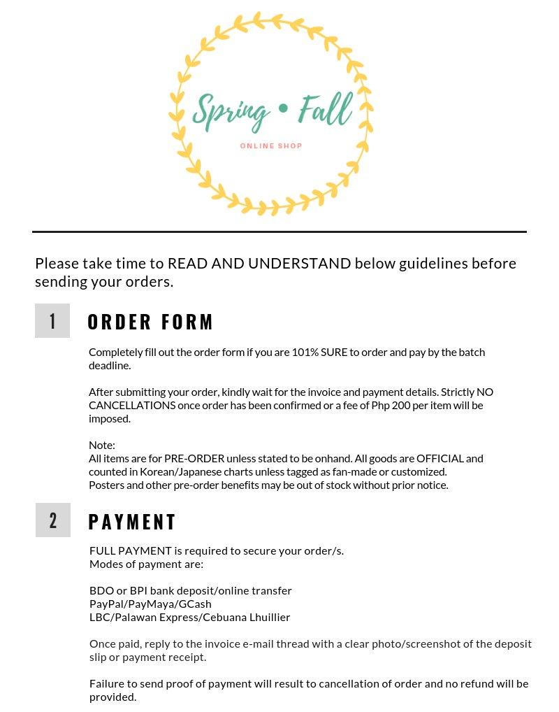 Spring • Fall Online Shop 💌 OTY Pola Tingi - @springfallph Twitter