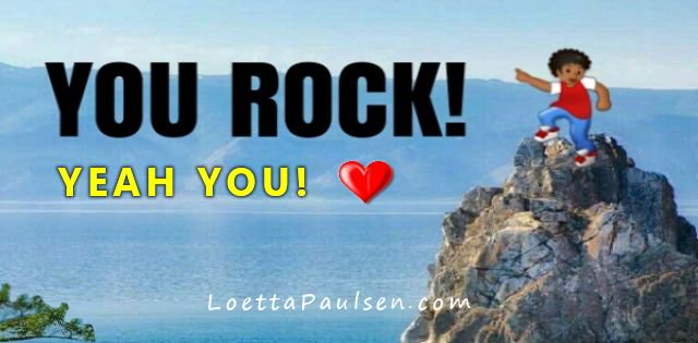 Take a moment and appreciate how Awesome you are. #yourock #inspiration