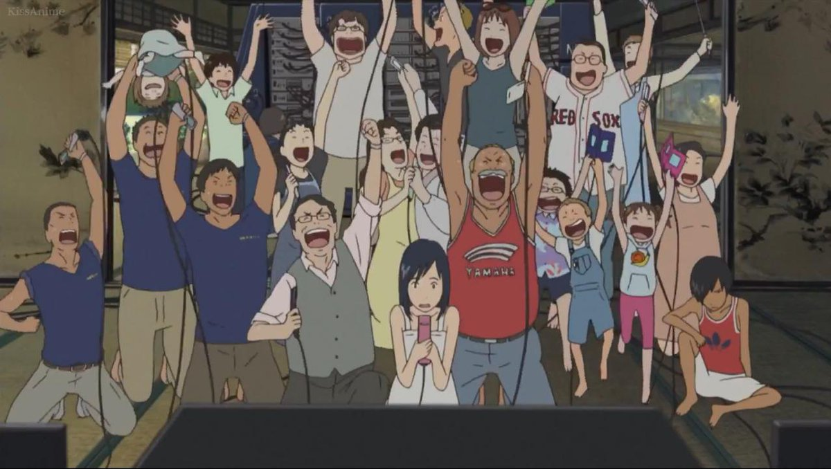 "Just finished watching ""Summer Wars"" for the first time  What a cool Family~ XD What a Fun Movie :3 <br>http://pic.twitter.com/X3yWqgqR2Y"