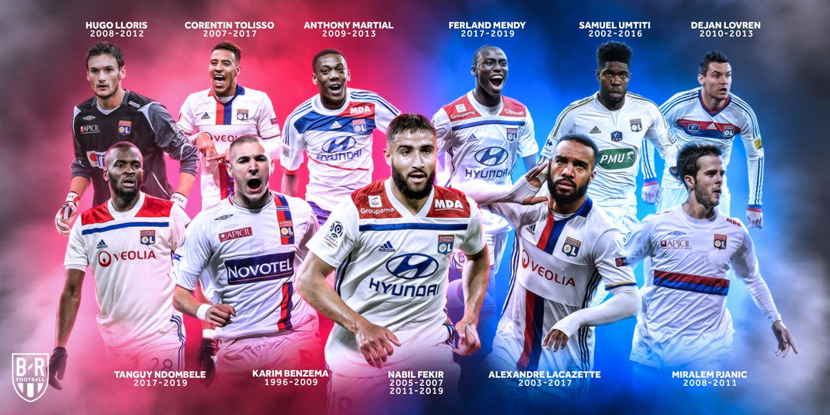 Lyon have seen some ballers 🌟