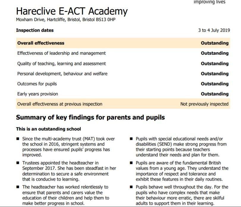 Badock's Wood E-ACT Academy (@BadocksEACT) | Twitter