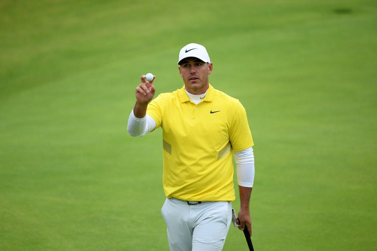 World Golf Rankings:  1 Brooks Koepka 2 Dustin Johnson 3 Rory McIlroy  4 Justin Rose  5 Tiger Woods  6 Francesco Molinari  7 Bryson DeChambeau  8 Jon Rahm          9 Justin Thomas  10 Patrick Cantlay  *Ahead of the #WGCFedEx https://t.co/Yg9JmYQanM