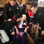 Image for the Tweet beginning: We surprised 90-year member Rewa