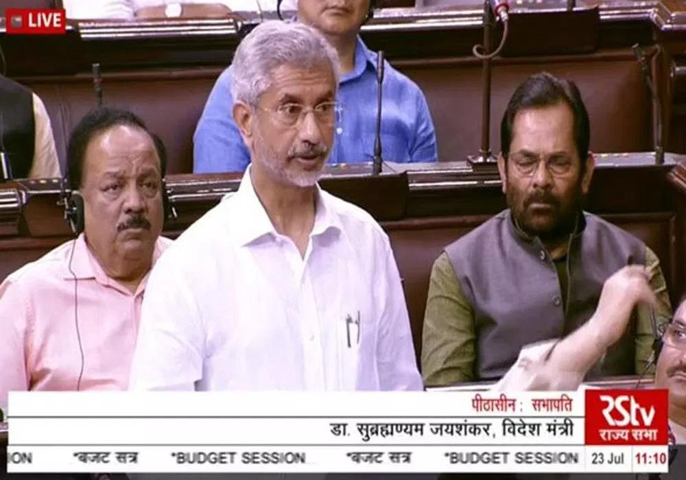 All outstanding issues with Pakistan are bilateral: Dr Jaishankar in Rajya Sabha
