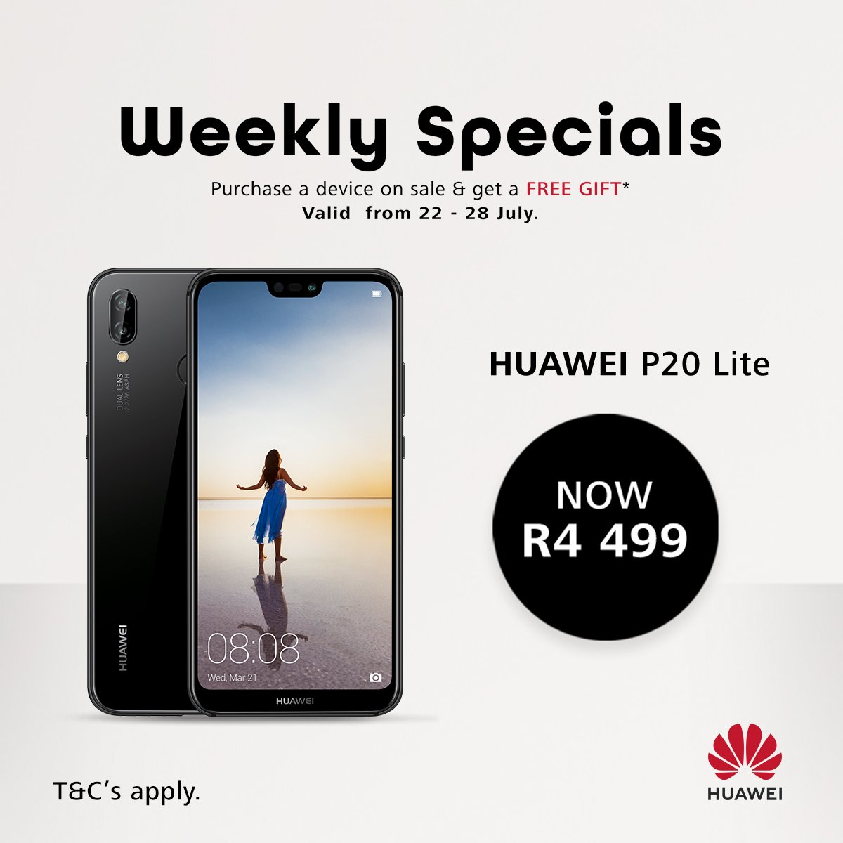Unlock your inner superstar when you purchase the #HuaweiP20Lite for