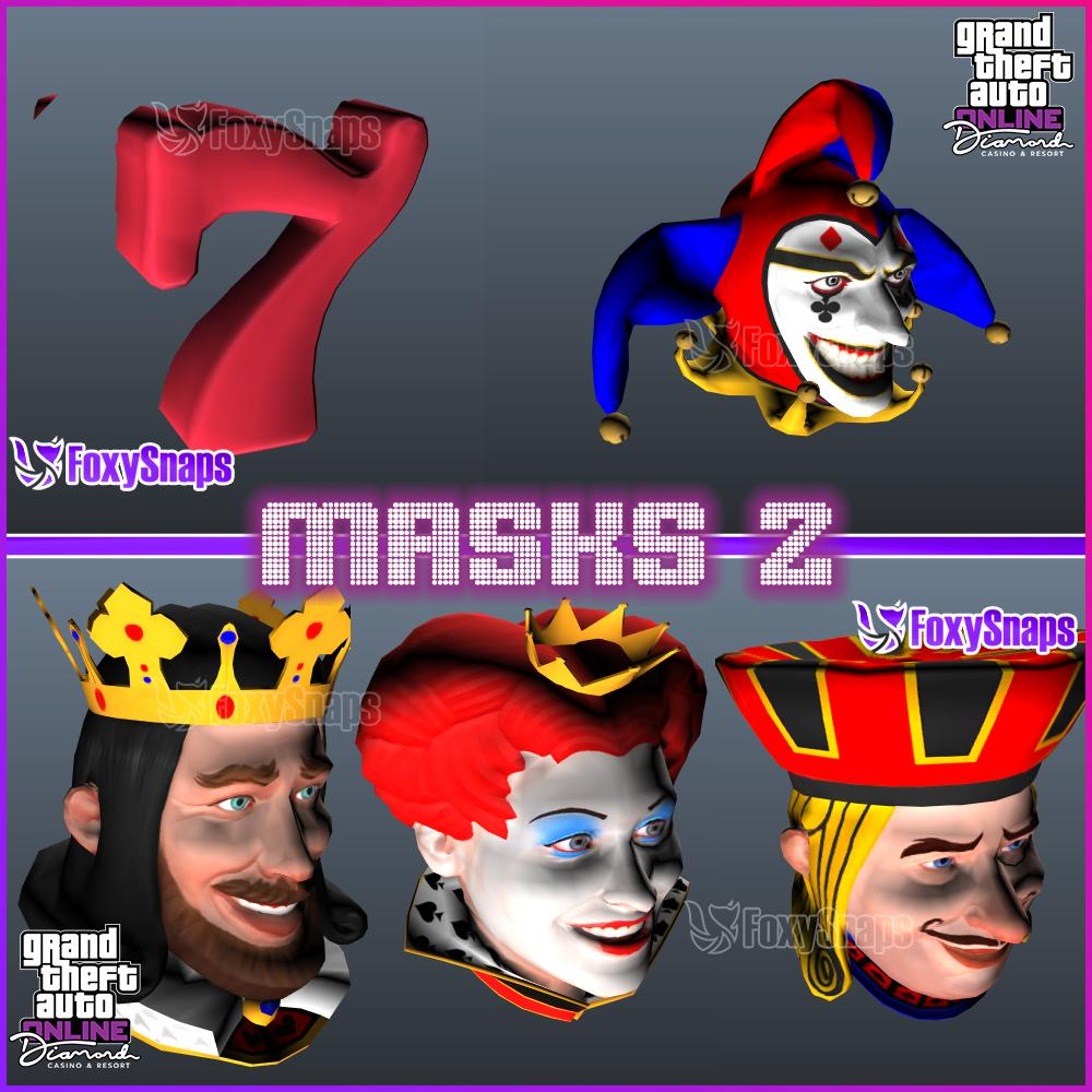 Gta News Rockstarintel Com On Twitter Casino Masks Gtaonline Https T Co Fmgaml2jo2
