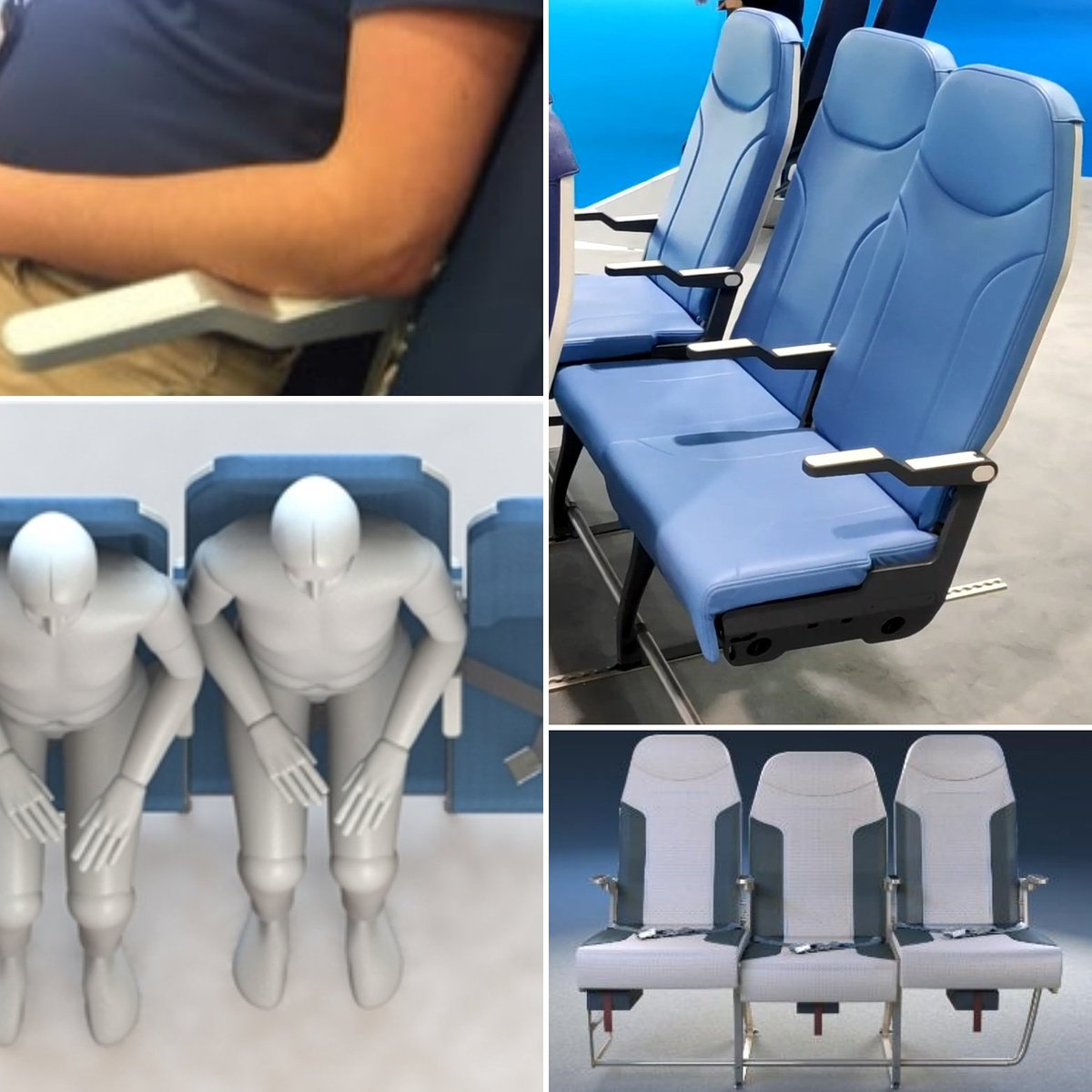 Amazing Steve Makris V Twitter The Dreaded Middle Airline Seat May Machost Co Dining Chair Design Ideas Machostcouk
