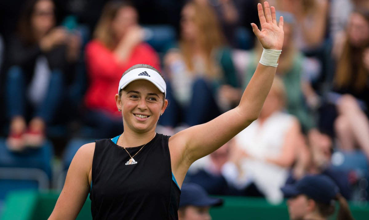 Who's in @balticopen2019 action today?  We're waving right back at you, @JelenaOstapenk8 !  Full order of play and match points ---> http://wtatenn.is/iIfFZt