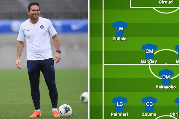 Chelsea take on Barcelona later this morning - but who will Frank Lampard start? 🤨 #CFC dailystar.co.uk/sport/football…