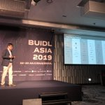 Image for the Tweet beginning: At #BUIDL, @AirblocOfficial was mentioned