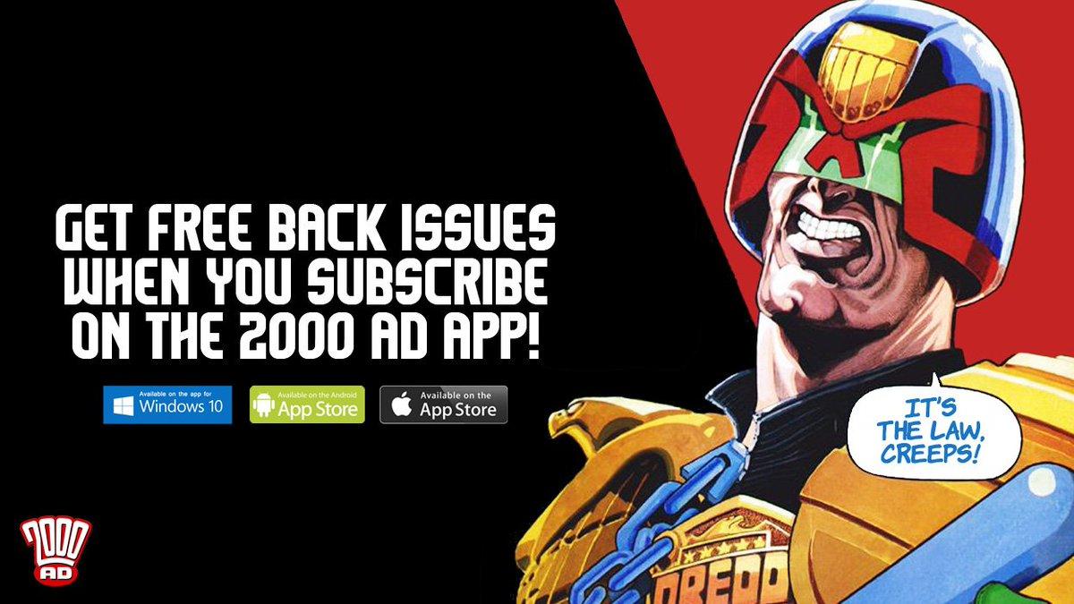 2000 AD Comics on Twitter: