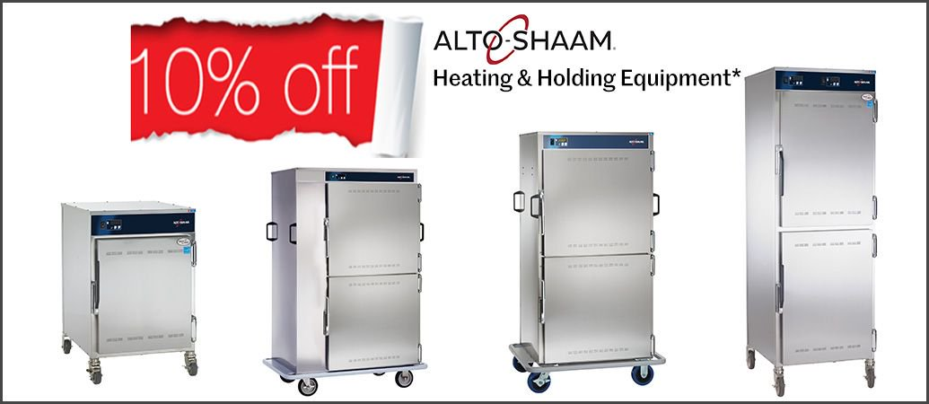 Image for For a limited time only, save an additional 10% on selected Alto-Shaam heated holding cabinets and heated banquet carts! https://t.co/l6UyQ7DVzS https://t.co/A3i4cTLScL
