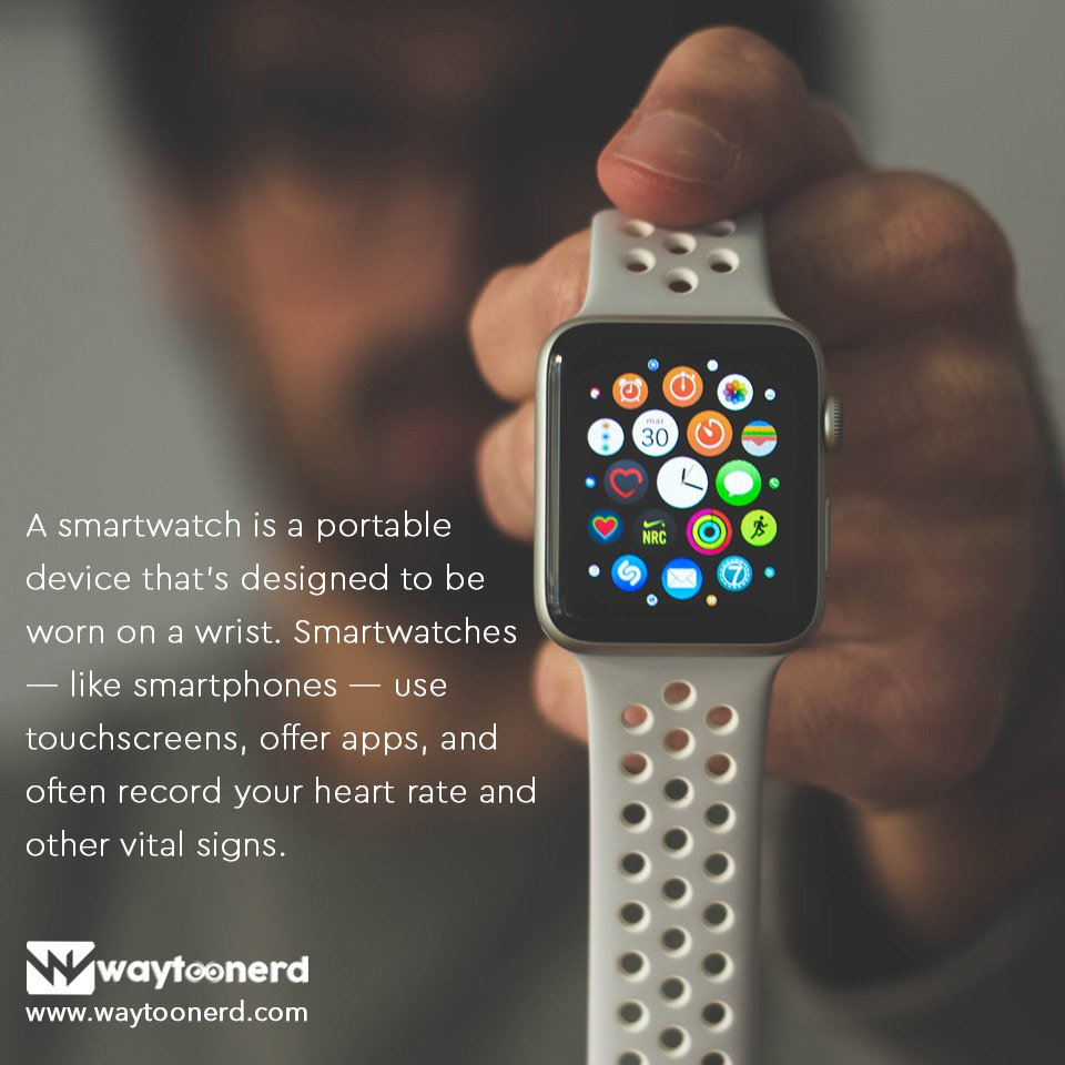 #smartwatch facts  http://www.waytoonerd.com  #miband #watch #gears #applewatch #fitness #watches #jamtangan #apple #technology #tech #galaxywatch #fashion #watchface #jualmiband #strap #xiaomi #watchesofinstagram #smartband #fitbit #jampintar #plus #kreditiphone #jualsmartwatch pic.twitter.com/r1OtBOO9DI