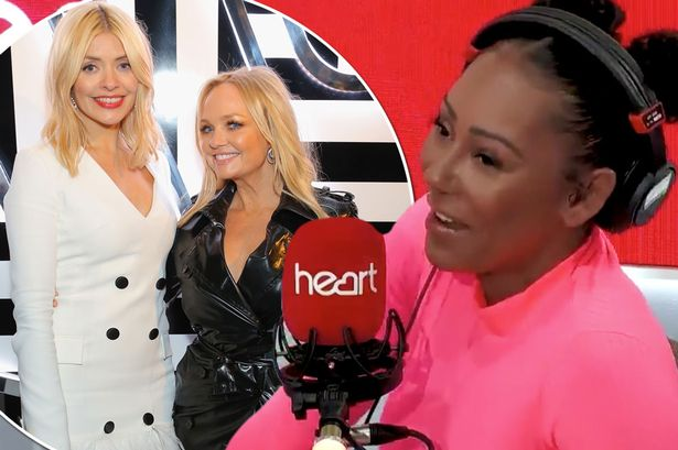 Holly Willoughby and close pal Emma Bunton 'snogged on night out', claims Mel B https://t.co/6RhZSoli1e https://t.co/V9u1On0u4o