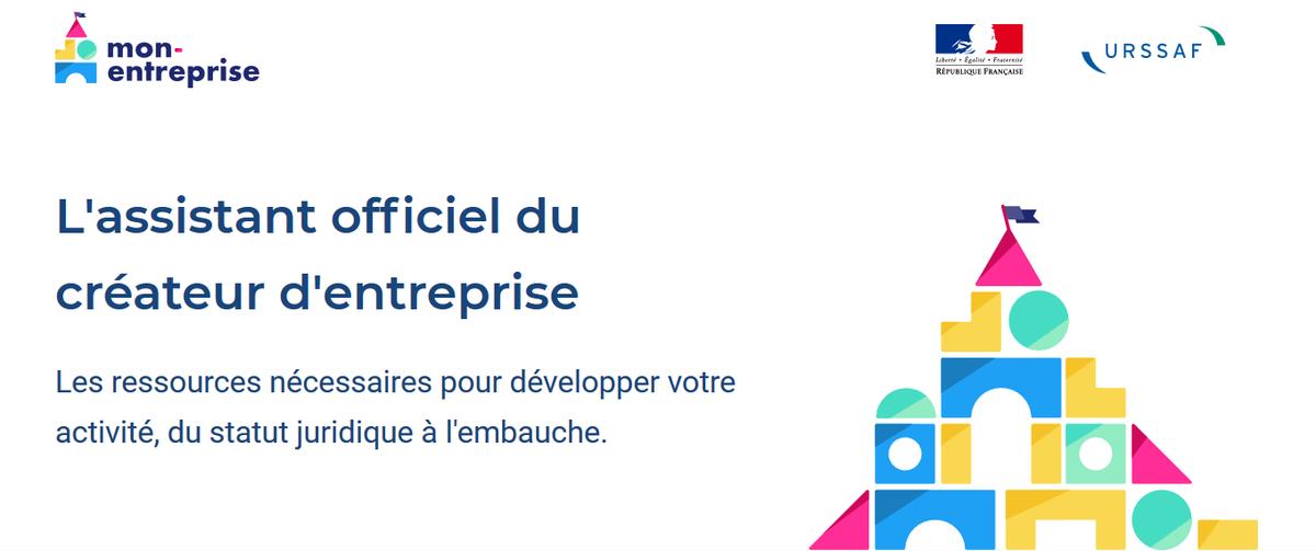 #Innovation #mardiconseil : 💻 http://mon-entreprise.fr est le site développé par les #Urssaf et l'incubateur des services numériques de l'Etat afin de guider les créateurs d'entreprise en toute simplicité . Consultez-le sans plus tarder ! 👍